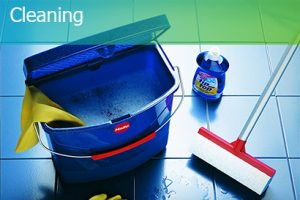 exhibition stand cleaning service